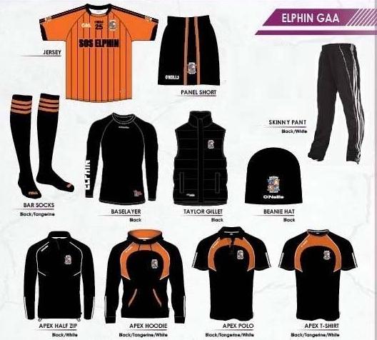 Elphin GAA Merchandise